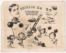 8 x 10 PHOTO OF CARTOON IMAGES - NICOLI & CO. European Novelty