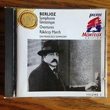 Berlioz: Symphonie fantastique, Overtures etc CD RCA Victor Gold Seal, Monteux