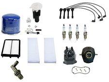 For Honda Accord Tune Up Kit Air Fuel Filters Plugs Cap Rotor Yec PCV Valve