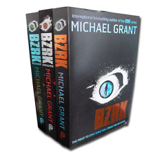 Michael Grant BZRK 3 Books Collection Set Reloaded, Apocalypse Gone series NEW