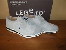 Donna Legero 953 Carrara Grigio Scamosciato Con Lacci Scarpa Taglia UK 4 EUR 37 NUOVO!