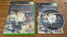 Full Spectrum Warrior (Microsoft Xbox) xb Pandemic multiplayer shooter COMPLETE