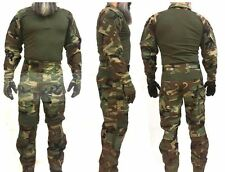 CRYE LBT EAGLE MARSOC Custom G3 Combat set pants and shirt Uniform M81 Woodland
