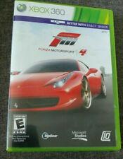 FORZA MOTORSPORT 4 (MICROSOFT XBOX 360) GAME DISCS & CASE 2-DISC SET RACING FUN!