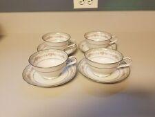 5~ Noritake Glenwood 5770 Rose Vintage China Tea Cup & Saucer Japan 181393