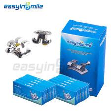 10packs Easyinsmile Mini Brace Metal Orthodontic Bracket 022 345withhook Roth Slot