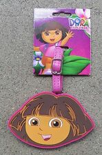 DORA THE EXPLORER LUGGAGE TAG - New on Card