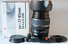 Canon EF-S 17-85 mm F/4-5.6 IS USM Lens Bundle (4995)