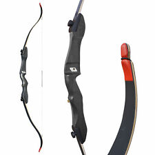 """Bogenset recurve bow equipped Wildcat PLUS 68/"""" Black Complete Set for Beginners"""