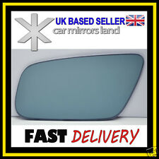 Left Passenger Wing Car Mirror Glass Blue CONVEX AUDI A3 A4 A6 A8 99-03