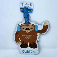 Vancouver 2020 Olympics Quatchi Luggage Tag (Embroidered) - NWT