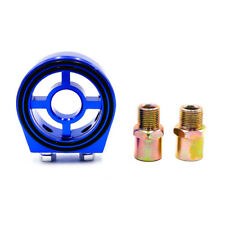 Blue Universal Oil Filter Sandwich Plate Cooler Adapter Kit M20×1.5 and 3/4-16