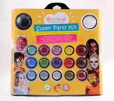 Coffret maquillage pour enfant Super Party Kit 17 couleurs - Grim'tout