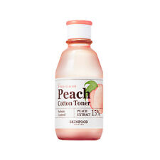 SKINFOOD Premium Peach Cotton Toner 175ml [Pore/Sebum/Oily] Peach Sake / KOREA