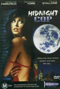 KILLING BLUE DVD 1988 AKA: Midnight Cop - Morgan Fairchild Michael York RARE