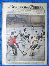La Domenica del Corriere 18 febbraio 1934 Milano - Romeni - India