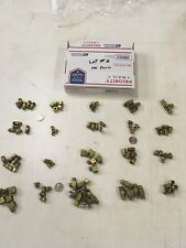 LARGE LOT Of BRASS Pipe FITTINGS 100 Piece Lot #2