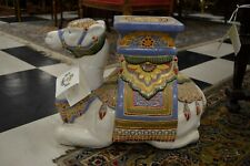 Vintage Chinese Camel Garden stooles