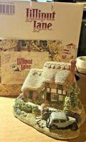 "BNIB Lilliput Lane ""Heaven Lea COTTAGE"" c.1993  Just Married w/Deeds & Brochure"