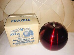 VINTAGE UNUSED 'NOVO' Apple Anodised Ice Bucket/Container