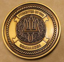 Defense Distribution Center Puget Sound Commander Navy Challenge Coin
