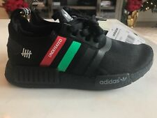 Adidas NMD R1 Undefeated Black with Red and Green Size 7 Mens