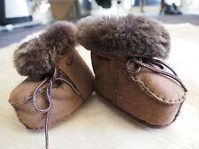 Too Cute!!! Beautiful Super Soft Sheepskin Babies Booties - Perfect for Winter