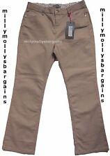New Womens Marks & Spencer Per Una Beige Slim Bootcut Jeans Size 8 Medium DEFECT