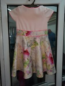 Ted Baker baby flower dress for 8 years height 128 cm