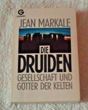 Die Druiden von Jean Markale Goldmann 1992 Sachbuch TB