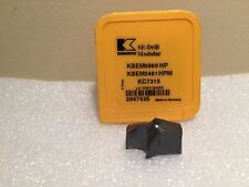 "Kennametal KSEM 0.9689"" 24.61MM HPM KC7315 Modular Drill INSERT Carbide 2047435"