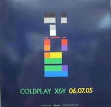 COLDPLAY 2005 X&Y promotional advance BIG cling sticker RARE NEW old stock