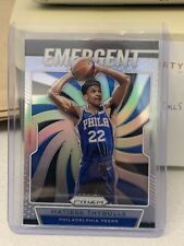 2019 2020 PANINI Prizm Matisse Thybulle SILVER Rookie Card RC 18 Emergent SP SSP