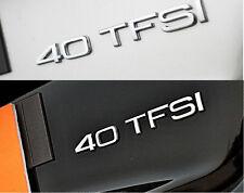 E742 40 TFSI Emblem Badge auto aufkleber 3D Schriftzug Plakette car Sticker Neu