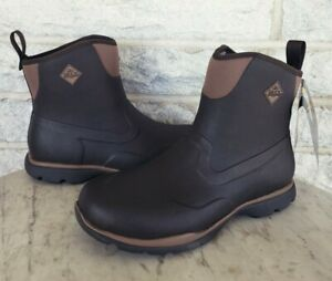 Muck Mens Excursion Pro Mid Outdoor Work Boots Size 10 Brown FRMC-900 $145