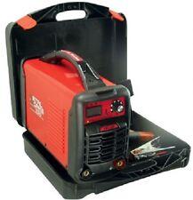 Soldador Inverter MetalWorks Tec 220 de 200 A + maletin + pinzas para soldar