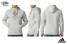 ADIDAS TEAM GB RIO 2016 OLYMPICS UNISEX HOODED SWEATSHIRT Size 34/36
