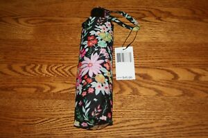 Vera Bradley UMBRELLA Compact One Touch Automatic Open Folding 4 tote backpack