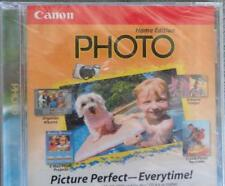 Canon Photo - Home Edition - BRAND NEW SOFTWARE CD ROM - Windows 98 or Higher