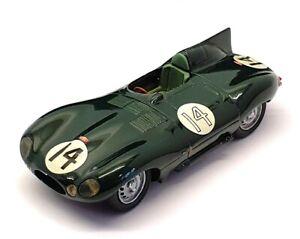 Provence Moulage 1/43 Scale Built Kit 24621C - Jaguar D Type Race Car #14