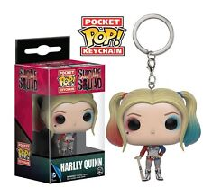 Suicide Squad Harley Quinn Officially Licenced Funko Pocket POP! Keyring NEW