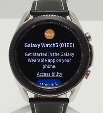 Samsung Galaxy Watch 3 45mm (Bluetooth + WiFi + LTE) SM-R845U Black Band
