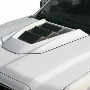 Fits 14-18 Sierra 1500 Air Design Custom Style Hood Scoop Satin Black GM28A01