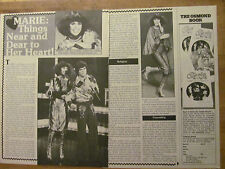 Marie Osmond, Two Page Vintage Clipping