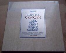 Karl Richter/Arroyo/Donath/Armstrong HANDEL Samson - Archiv 198 461/64 SEALED