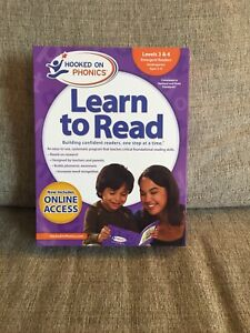 NEW Hooked on Phonics Learn to Read Levels 3&4 Complete Emergent Readers