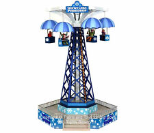 Lemax 34634 SNOWFLAKE PARADROP Carnival Ride Amusement Park Christmas Village I