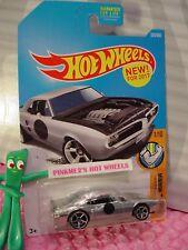 NEW! CUSTOM '67 PONTIAC FIREBIRD #335✰ZAMAC;✰Muscle Mania✰2017 Hot Wheels Case Q