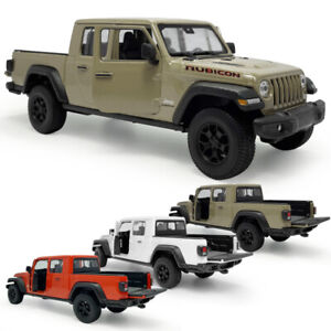 1:27 Scale 2020 Jeep Gladiator Pickup Truck Model Car Diecast Vehicle Collection