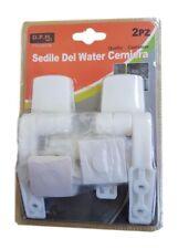 Cerniere Plastica Supporti Agganci Sedile Coprivaso Tavoletta Wc Copriwater dfh